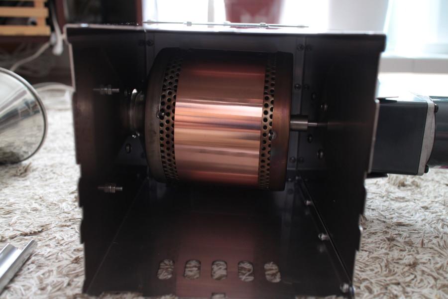 半熱風式のシリンダー